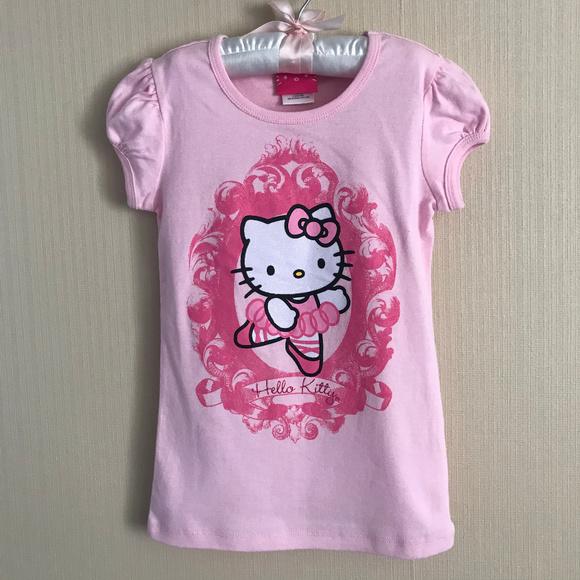 ff53d39a4 Sanrio Shirts & Tops | Hello Kitty Ballerina Tee Top Pink Clothes ...